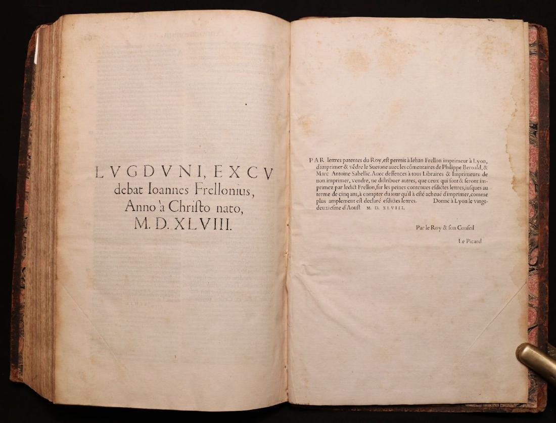 Suetonius, Twelve Caesars, 1548 - 7