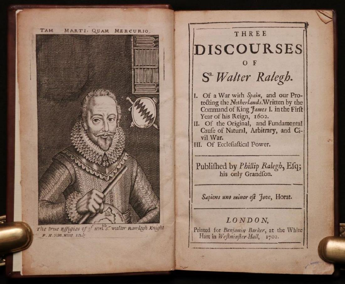 Walter Raleigh's Three Discourses, 1702