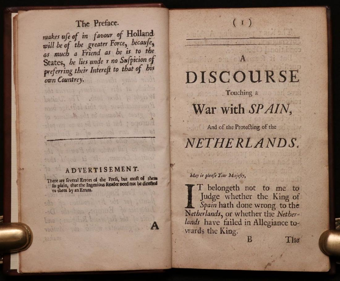 Walter Raleigh's Three Discourses, 1702 - 2