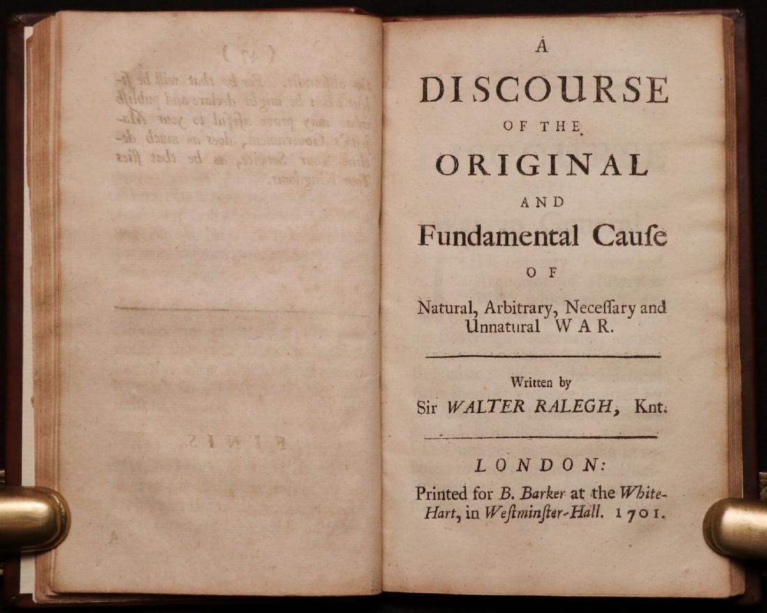 Walter Raleigh's Three Discourses, 1702 - 4
