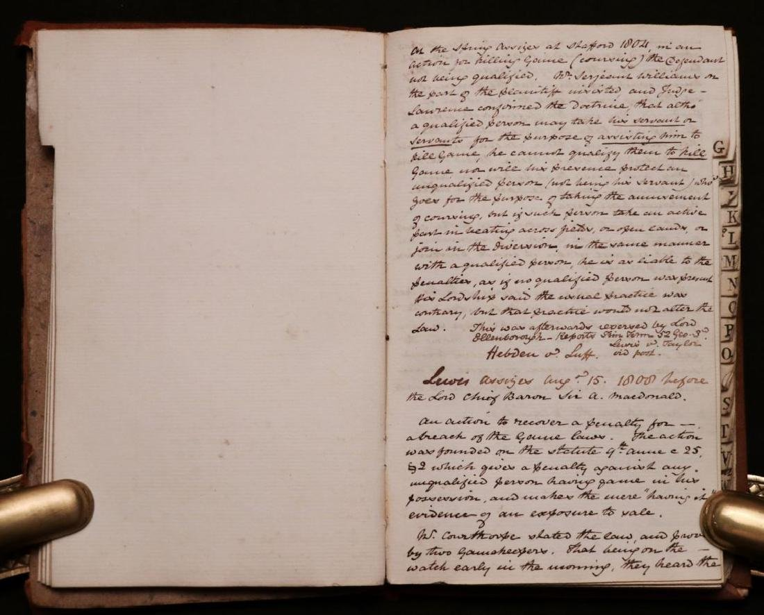 19th c. MS Commonplace Book