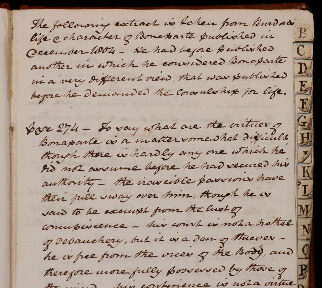 19th c. MS Commonplace Book - 2