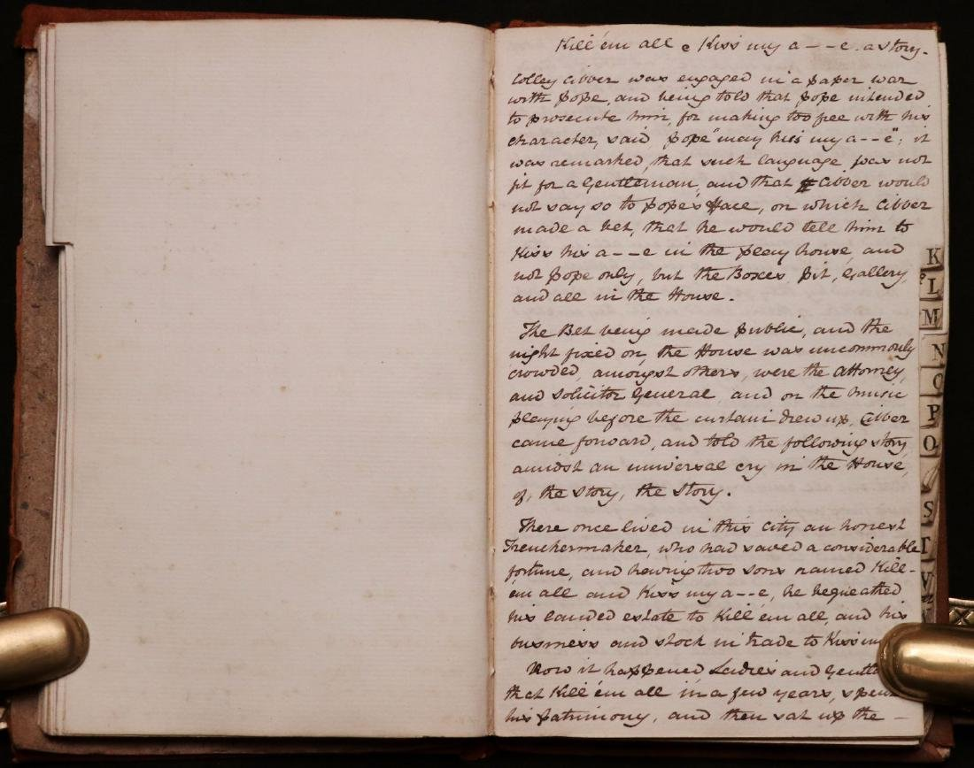 19th c. MS Commonplace Book - 3