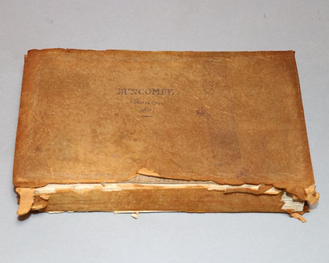19th c. MS Commonplace Book - 5