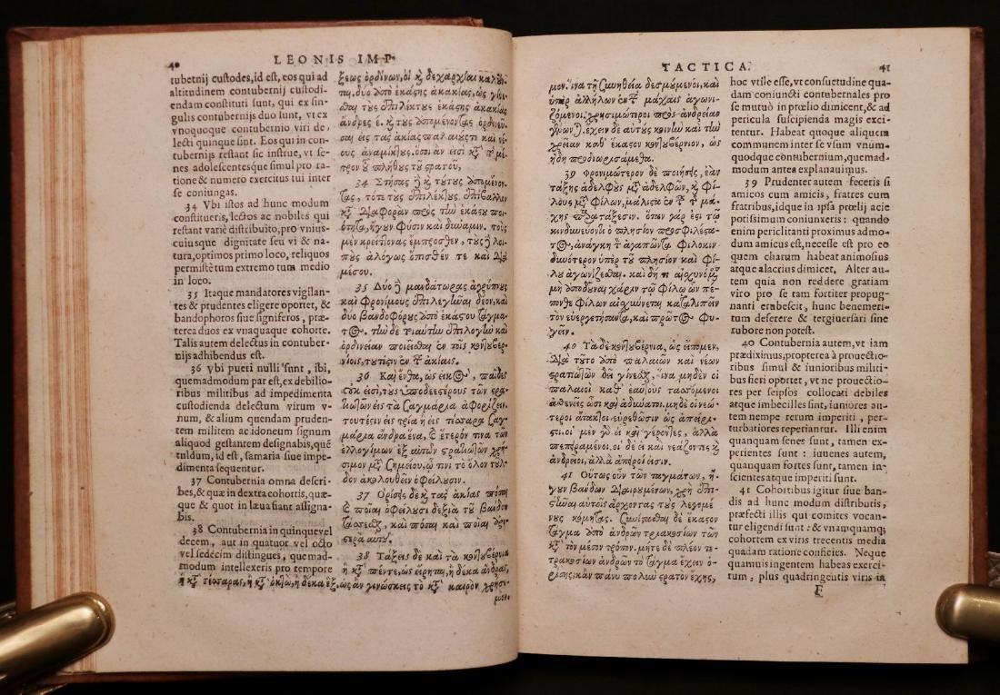 Leo VI, on Byzantine Military Tactics, 1612 - 4