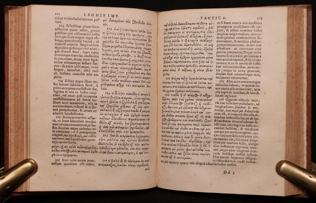 Leo VI, on Byzantine Military Tactics, 1612 - 5