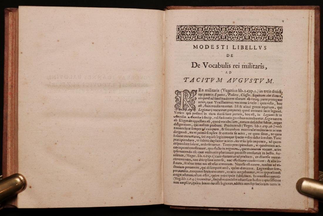 Leo VI, on Byzantine Military Tactics, 1612 - 7