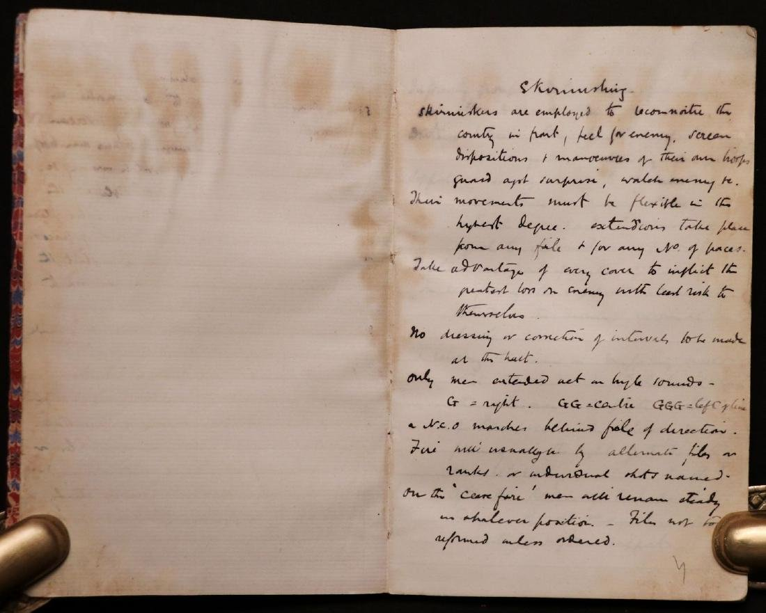 MS Journal of Trip to Algiers, 1890 - 4