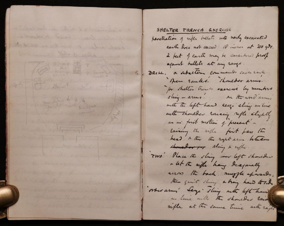 MS Journal of Trip to Algiers, 1890 - 5