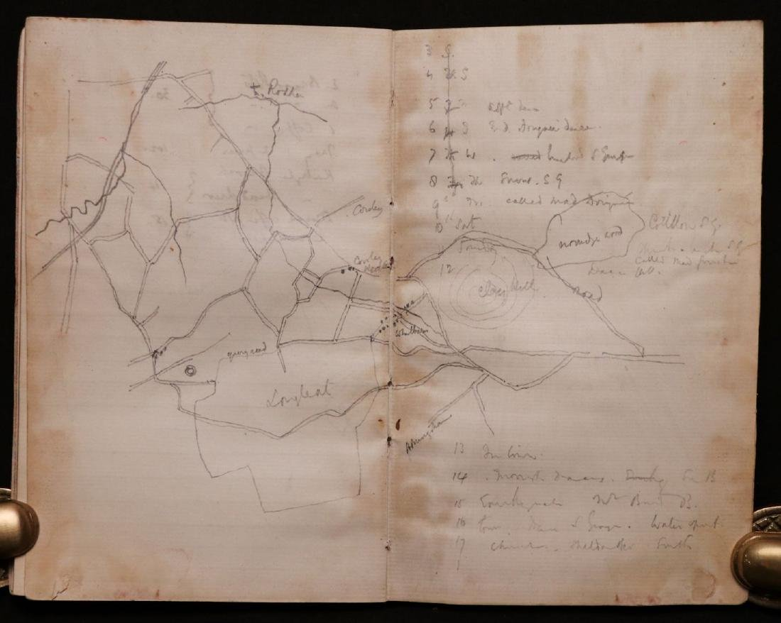 MS Journal of Trip to Algiers, 1890 - 6