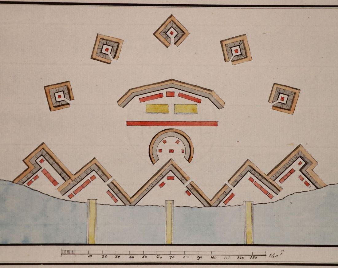 [Manuscript Drawings, Fortification, 18th c.]