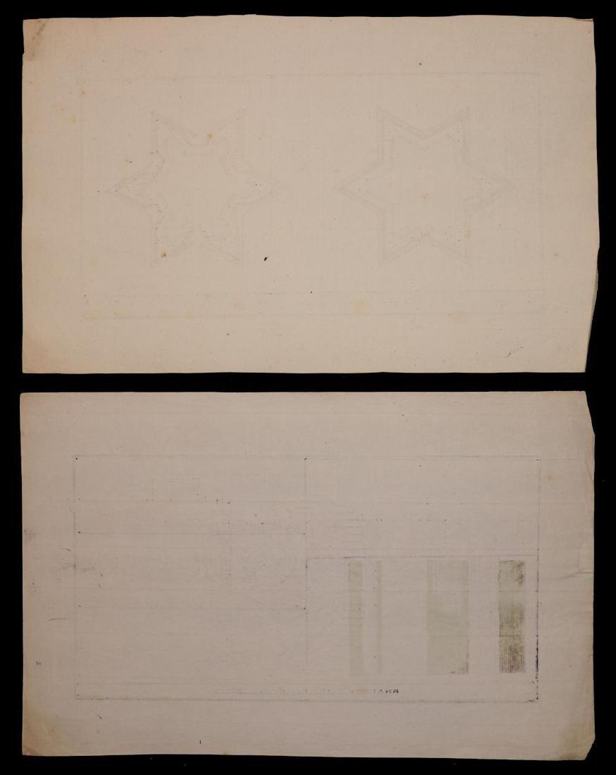 [Manuscript Drawings, Fortification, 18th c.] - 5