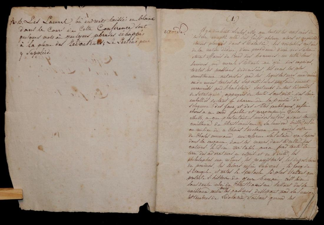 Original Manuscript.  Gibbon's History - 2