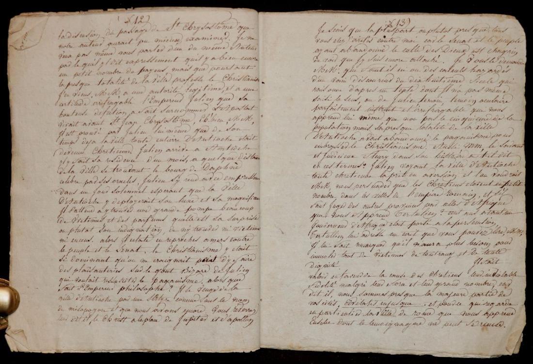 Original Manuscript.  Gibbon's History - 4