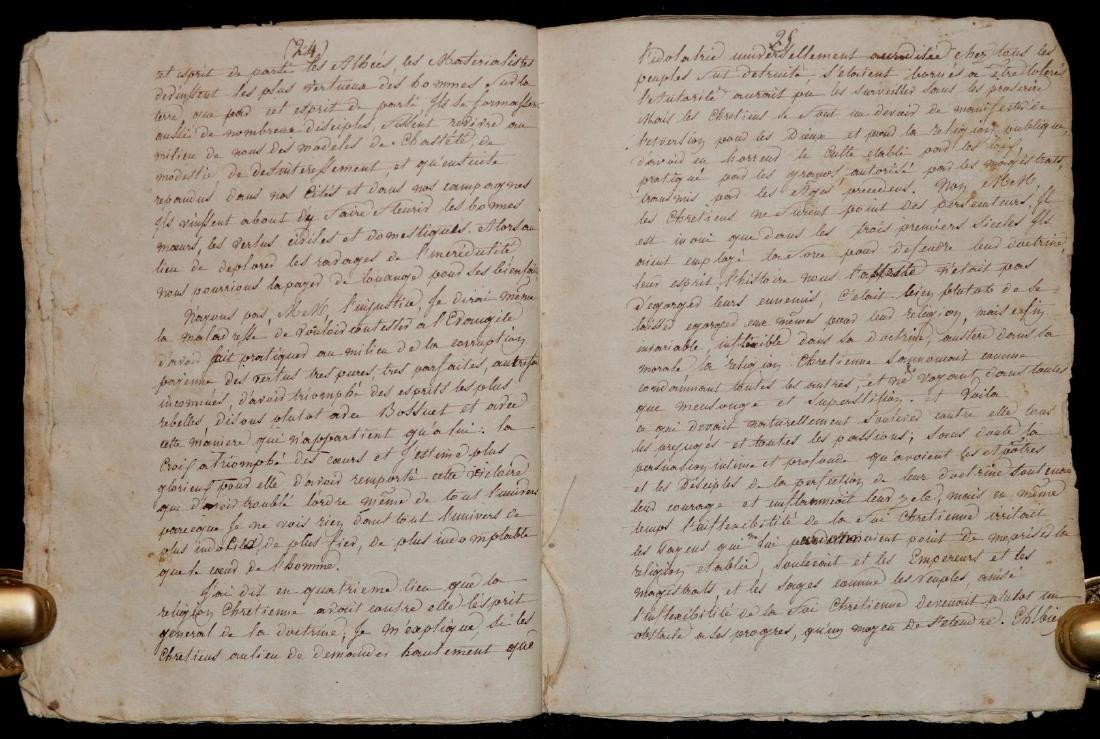 Original Manuscript.  Gibbon's History - 5