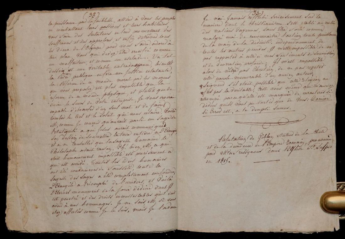 Original Manuscript.  Gibbon's History - 6