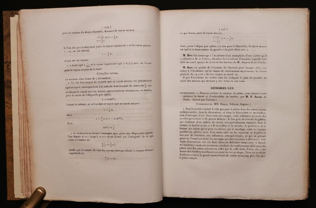 [Science]  19th c. French Academy of Sciences - 4
