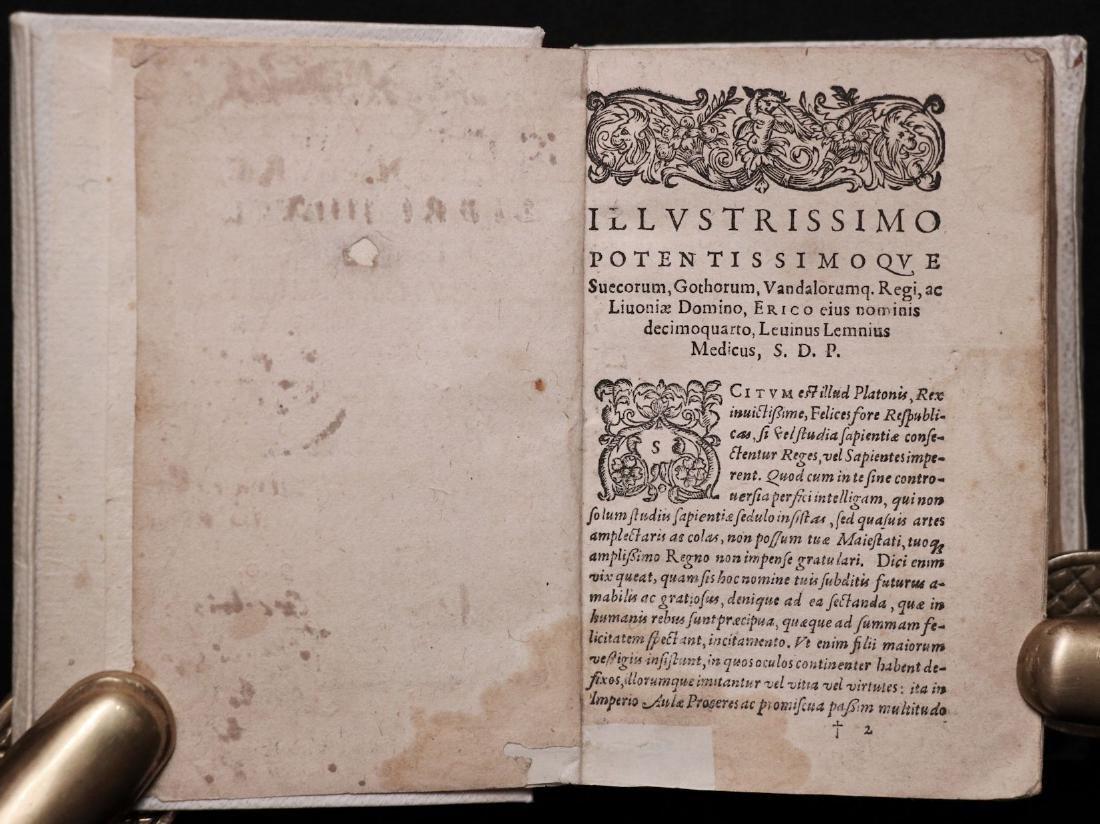 [Medicine]  Lemnius on Secrets of Nature, 1590 - 4