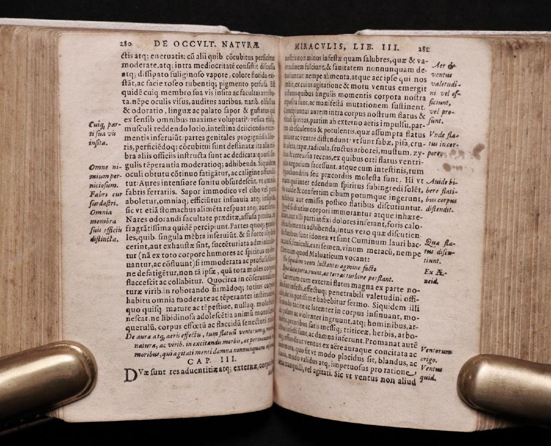 [Medicine]  Lemnius on Secrets of Nature, 1590 - 6