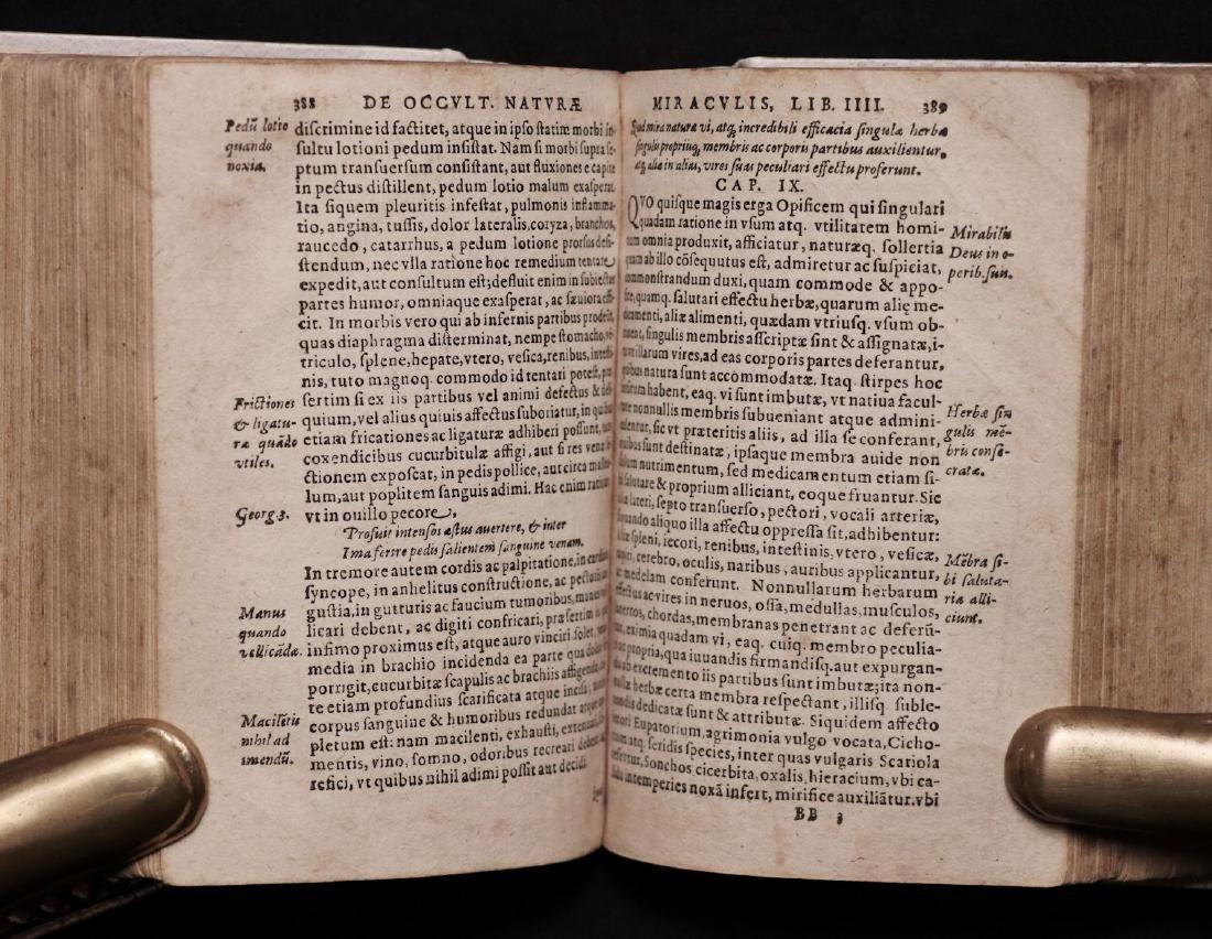 [Medicine]  Lemnius on Secrets of Nature, 1590 - 7