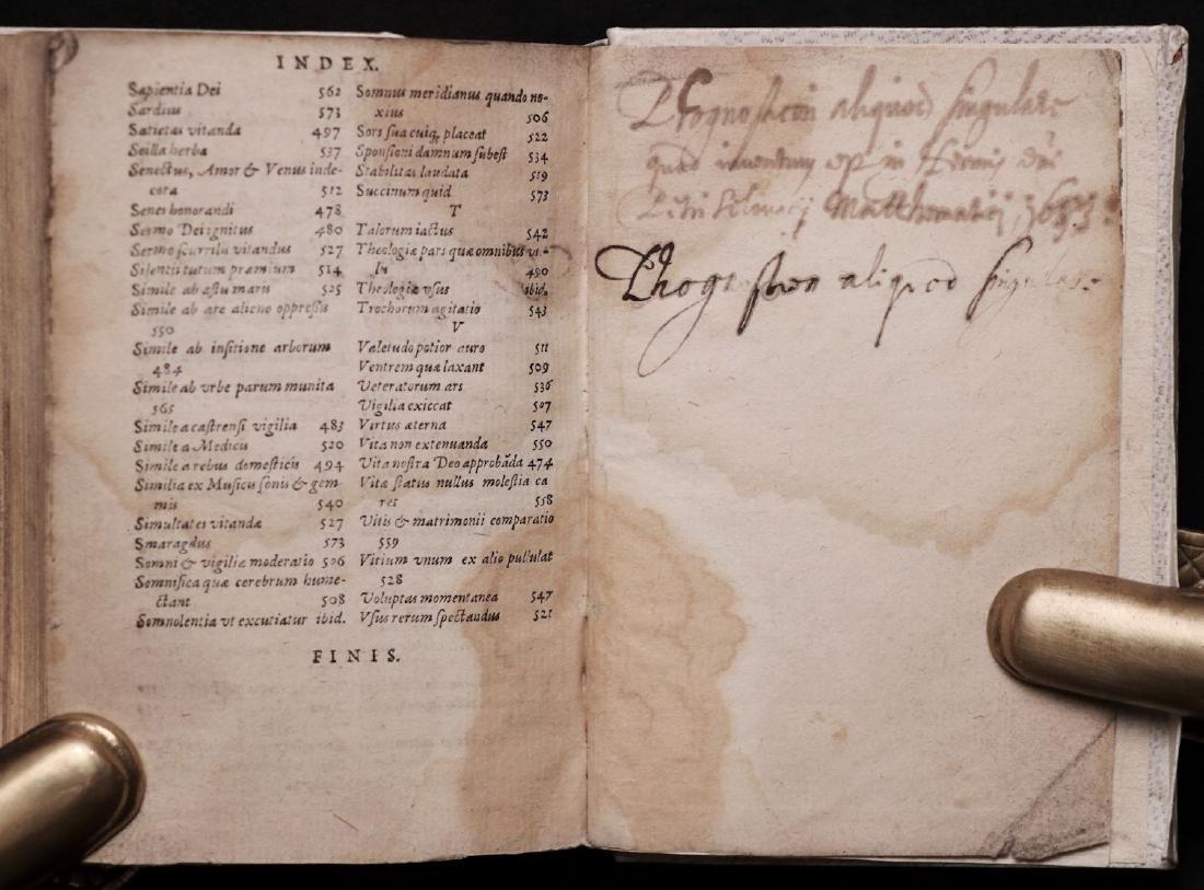 [Medicine]  Lemnius on Secrets of Nature, 1590 - 9