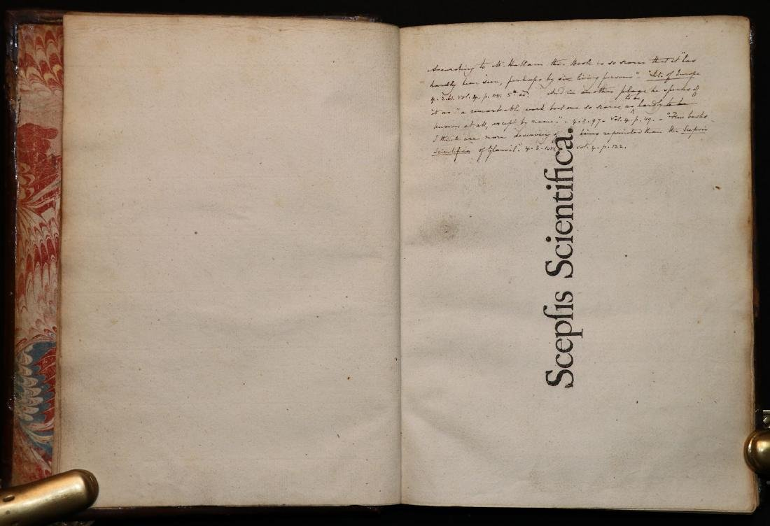 [Philosophy]  Scepsis Scientifica, 1665 - 2