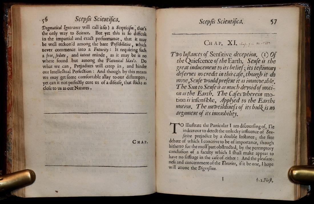 [Philosophy]  Scepsis Scientifica, 1665 - 4