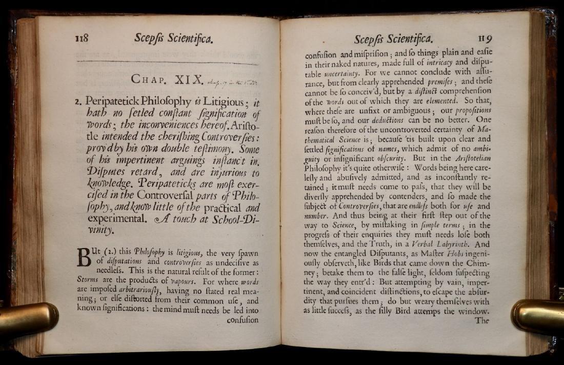 [Philosophy]  Scepsis Scientifica, 1665 - 5
