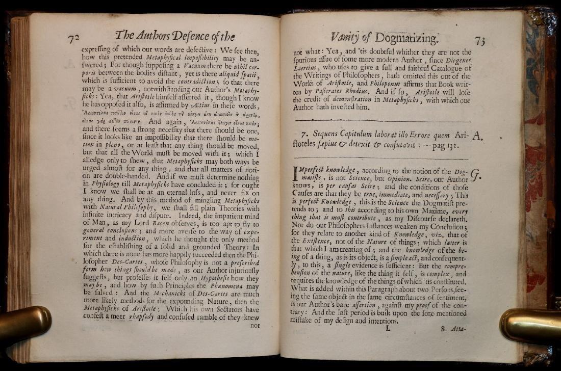 [Philosophy]  Scepsis Scientifica, 1665 - 7