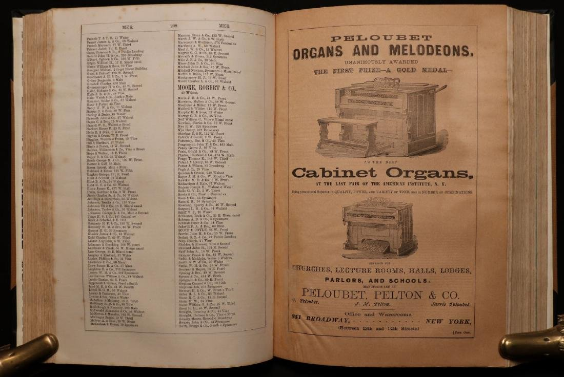 American 19th c. Business Directory, 1867 - 2