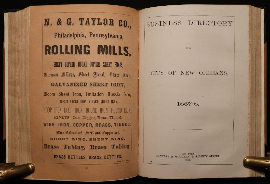 American 19th c. Business Directory, 1867 - 3