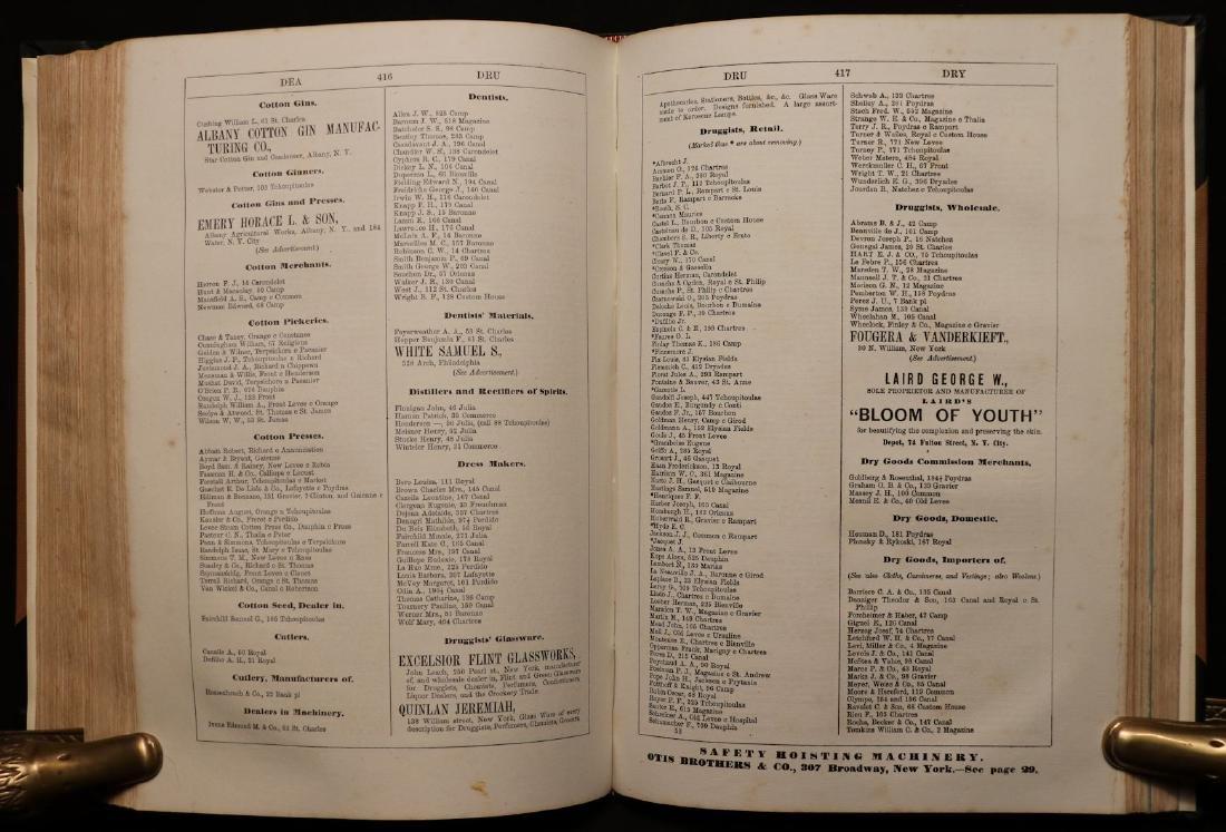 American 19th c. Business Directory, 1867 - 4