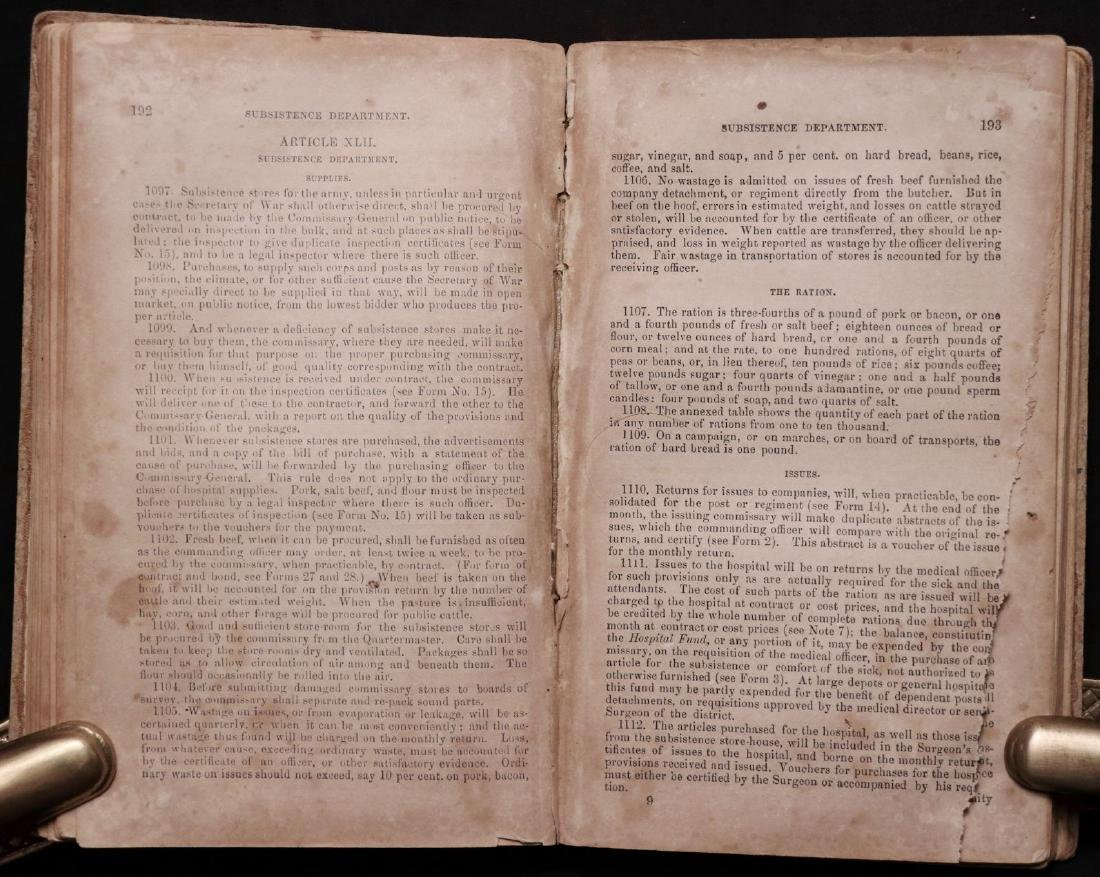 [Confederate Regulations, McKie's Copy, 1862] - 3