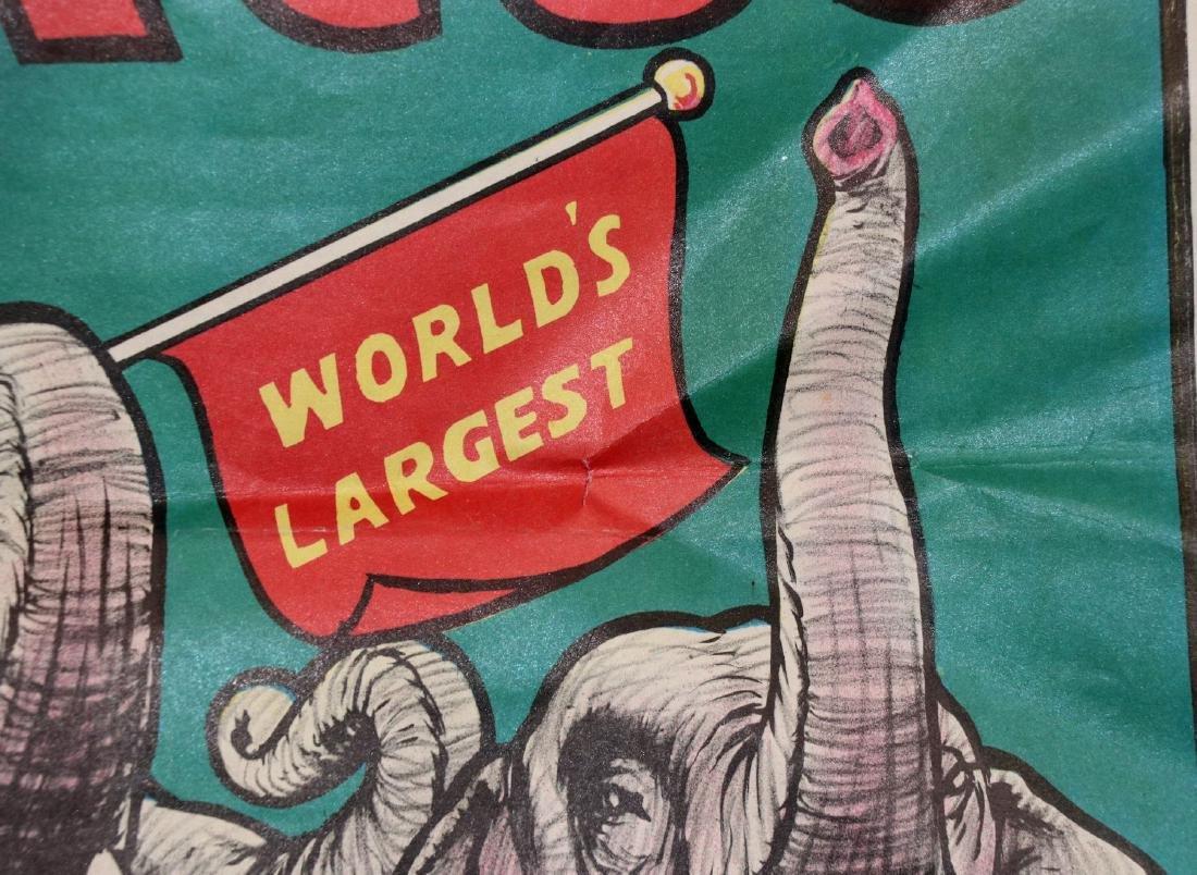 Cristiani Bros Circus Poster, Philadelphia, 1950s - 2