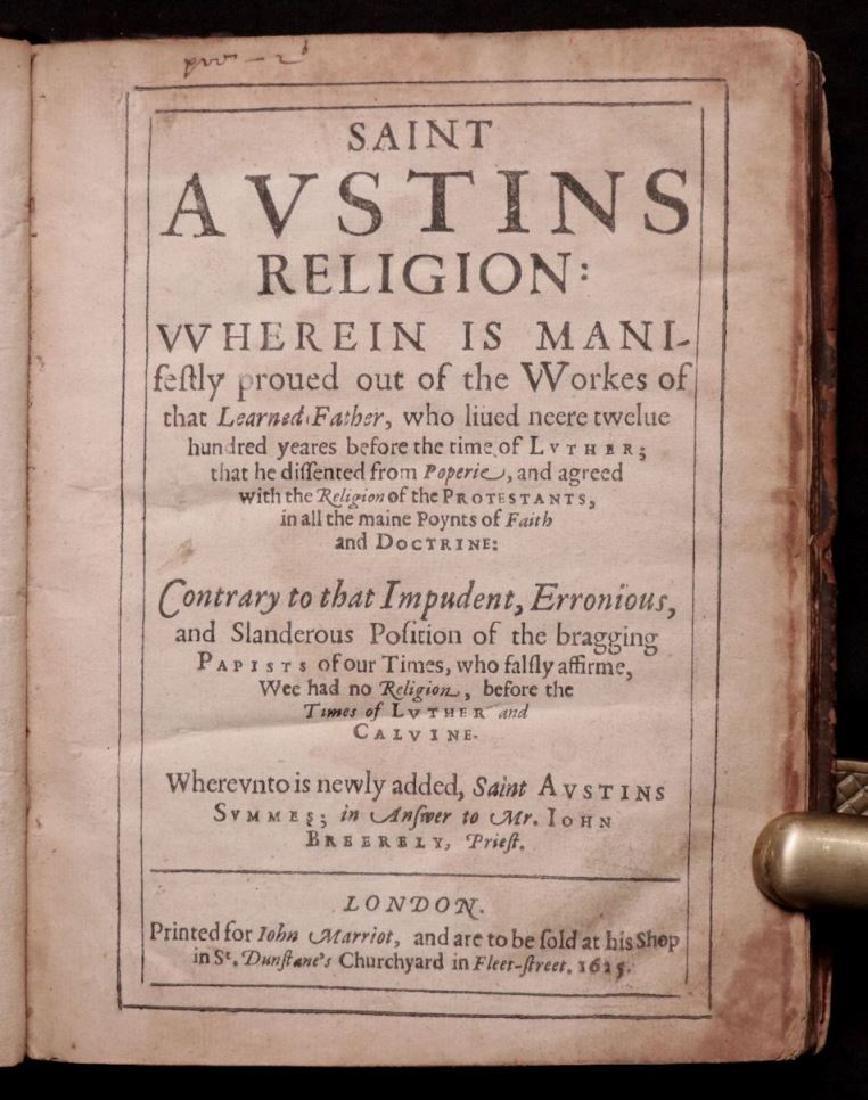 [Saint Austin, Protestants vs. Papists, 1625]