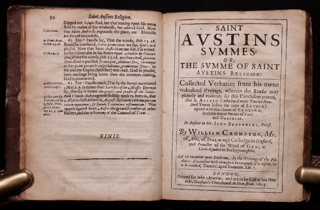 [Saint Austin, Protestants vs. Papists, 1625] - 2