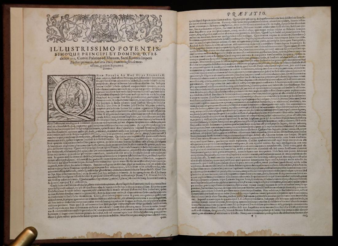 [Bible]  Biblia Sacra, London, 1593, Folio - 2
