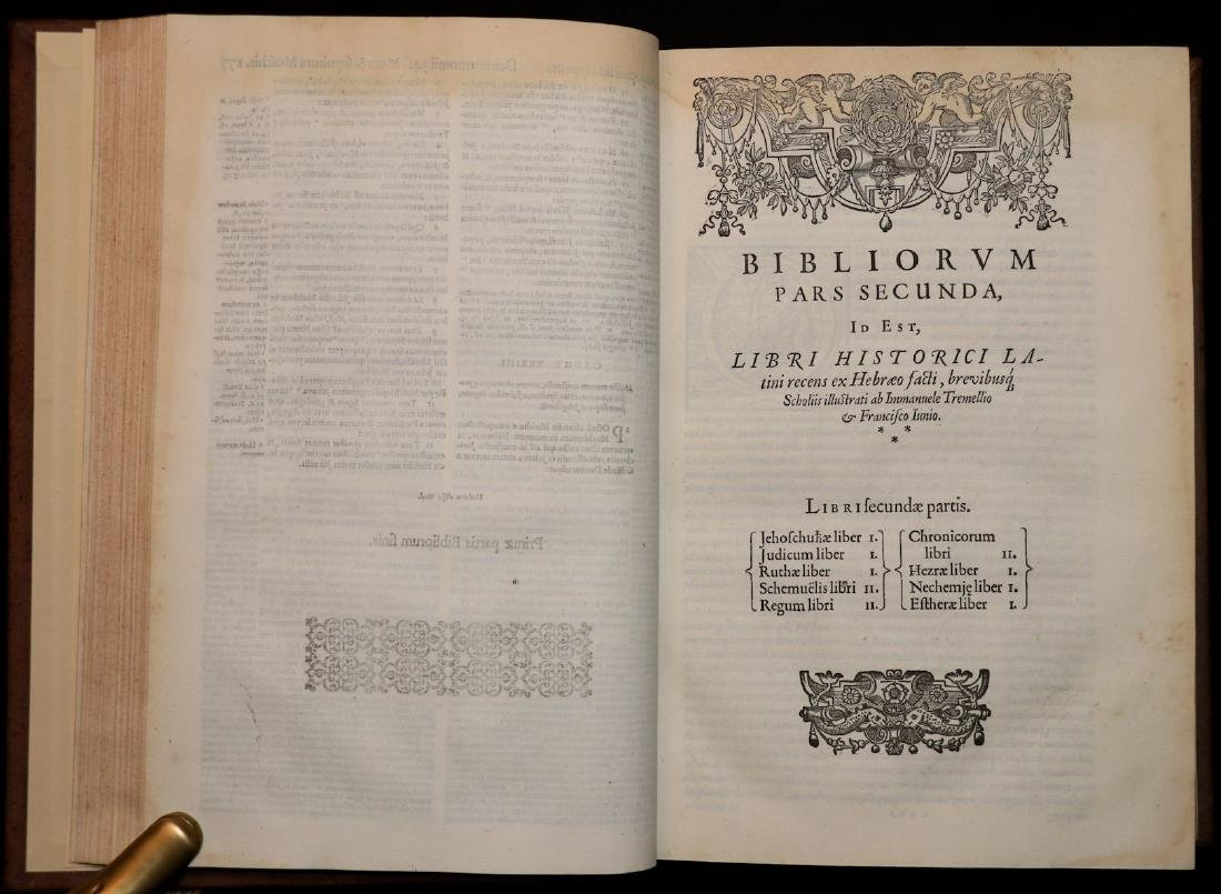[Bible]  Biblia Sacra, London, 1593, Folio - 3