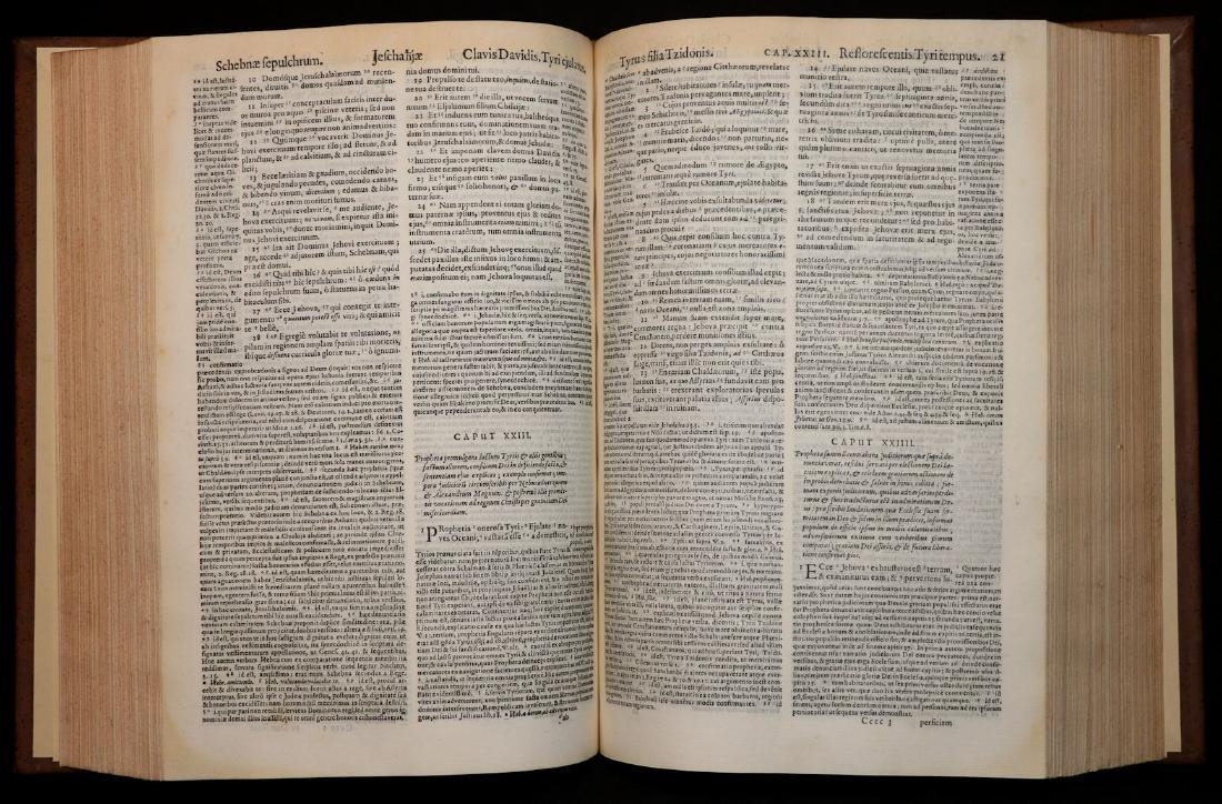 [Bible]  Biblia Sacra, London, 1593, Folio - 4