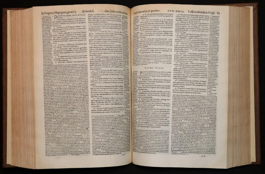 [Bible]  Biblia Sacra, London, 1593, Folio - 5