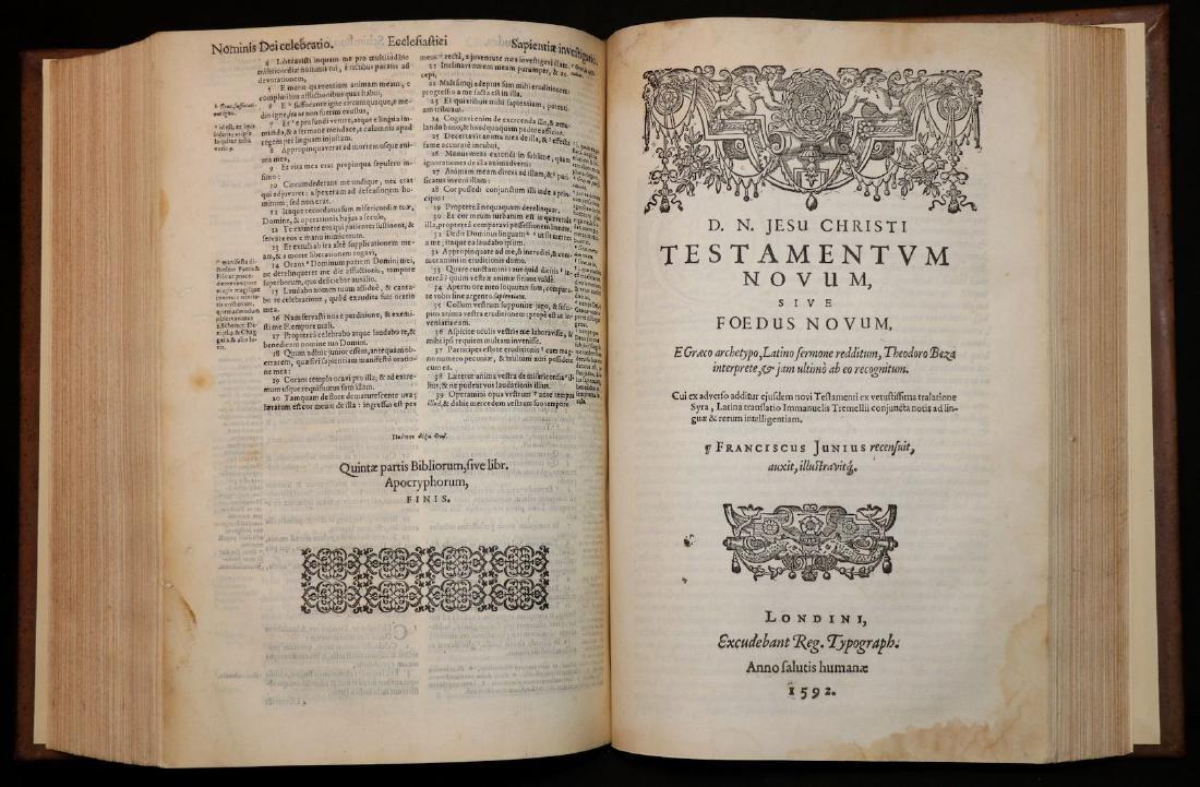 [Bible]  Biblia Sacra, London, 1593, Folio - 6