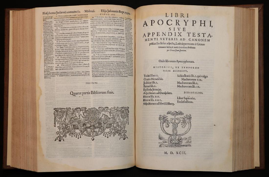 [Bible]  Biblia Sacra, London, 1593, Folio - 7
