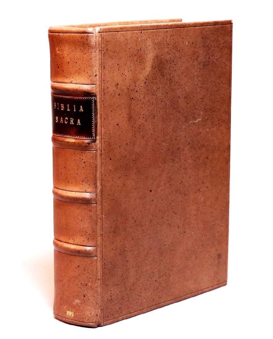 [Bible]  Biblia Sacra, London, 1593, Folio - 8