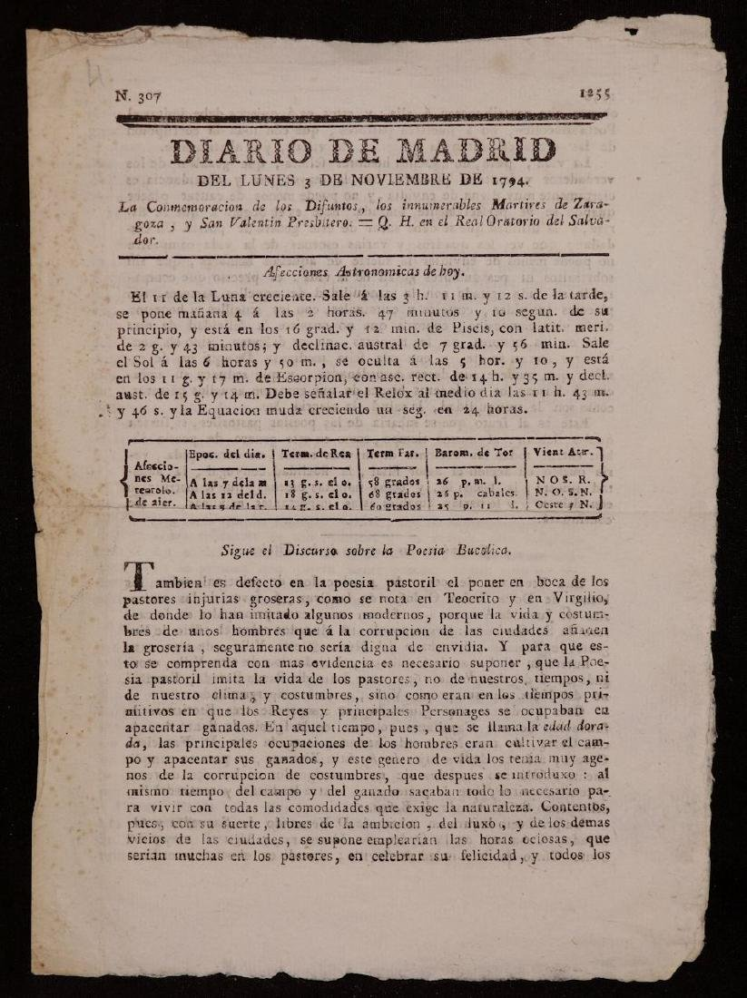 18th c. Spanish Tracts, Lot of 4 - 3