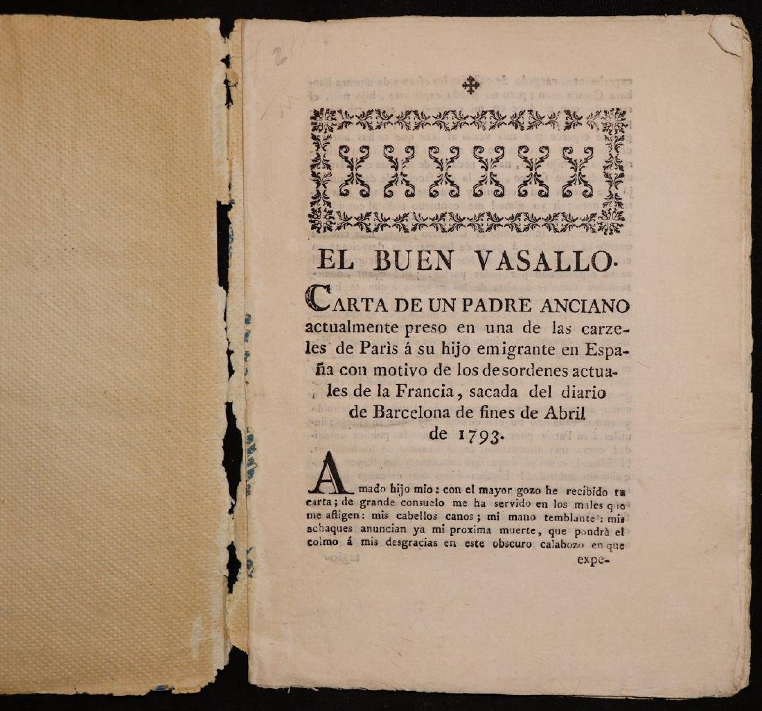 18th c. Spanish Tracts, Lot of 4 - 5