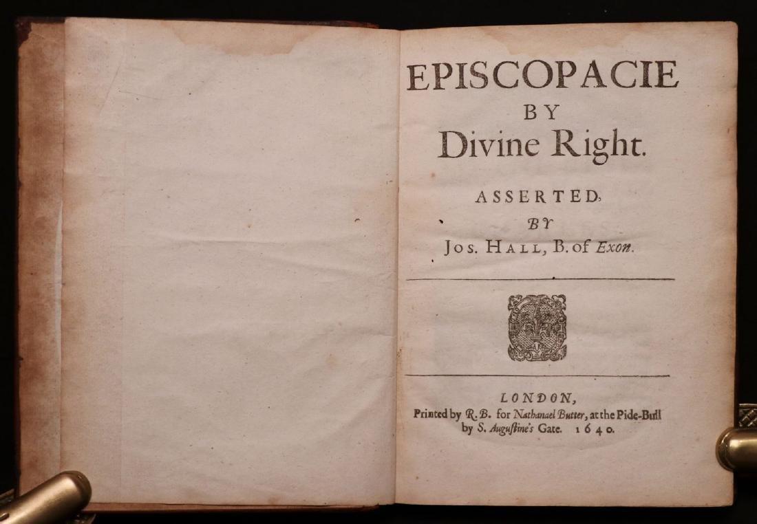 Episcopacie by Divine Right, 1640 - 2