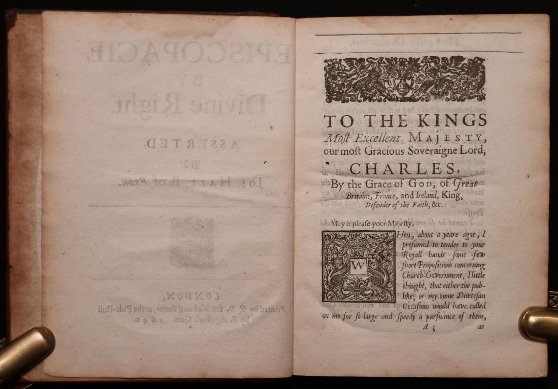 Episcopacie by Divine Right, 1640 - 3