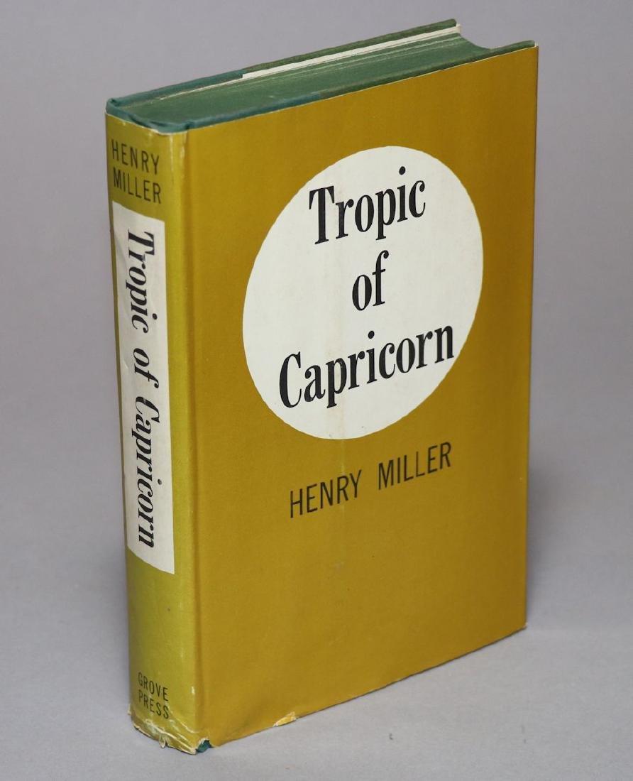 Henry Miller.  Tropic of Capricorn, 1st Ed.