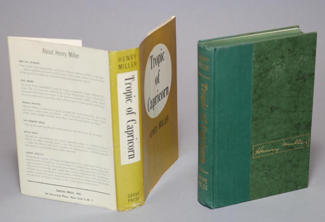 Henry Miller.  Tropic of Capricorn, 1st Ed. - 2