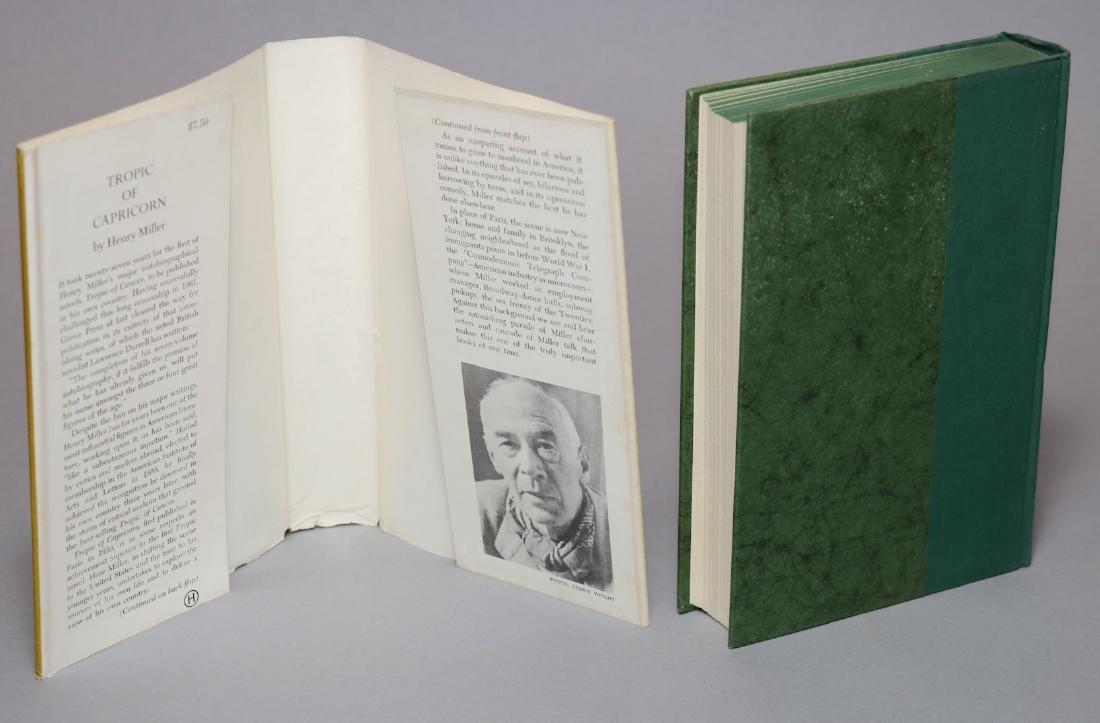 Henry Miller.  Tropic of Capricorn, 1st Ed. - 3